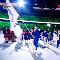 東京オリンピック開会式、国名はチャイニーズタイペイですが入場は五十音順で「台湾」でした